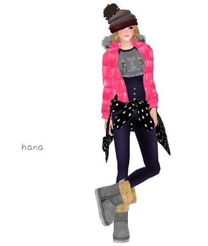 Dawn Jacket -pink-