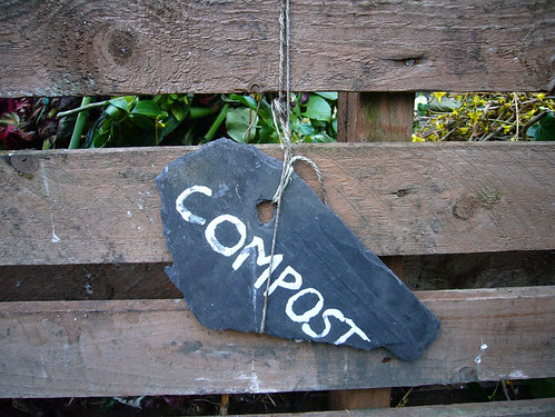Compost sign by kirstyhall, on Flickr
