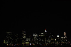 Manhattan (ciccionik) Tags: nyc building night river state manhattan rockefellercenter empirestatebuilding ciccionik