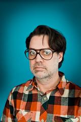 Stock-091-20110107.jpg (T. Scott Carlisle) Tags: glasses rocks teal products judy lumberjack plm tsc plaidshirt tscottcarlisle tscottcarlislecom