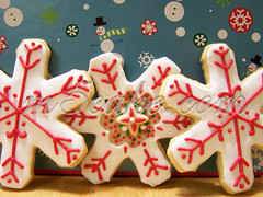 Christmas cookies 2 - royal Icing 2