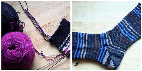 January Socks in Progress