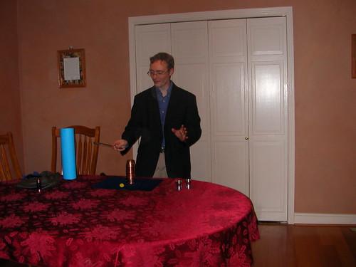 Dec 31 2010 Mike magic show