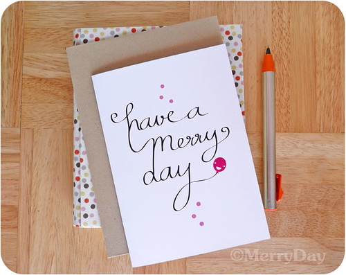 merry-notecard