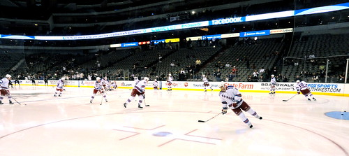 Rangers pregame skate by Anna Enriquez, on Flickr