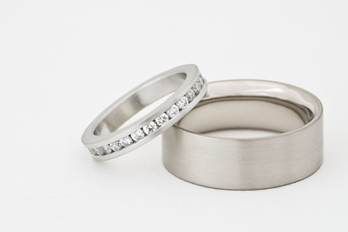 wedding bands for her and him