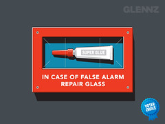 False Alarm T-shirt (Glennz Tees) Tags: art nerd fashion design funny geek drawing humor cartoon tshirt draw popculture emergency apparel glenz breakglass glenjones gleenz glennzglennjonesillustrationtshirtteedesignvectorillustratoradobeillustratoraifalsealarm glennnz