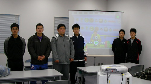 2007年の世界選手権のビデオを見ての勉強会