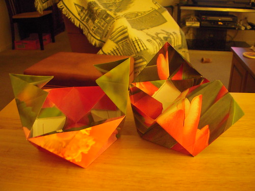 Origami #7: Altered Cube