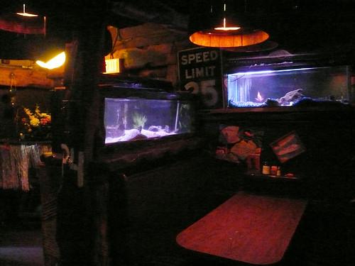bar restaurant zombie interior cocktail fishtank diningroom tiki polynesian bahooka rosemead