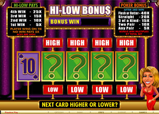 free Your Lucky Day bonus game 1
