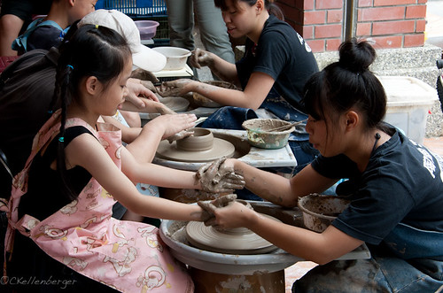 DIY Pottery in Yingge