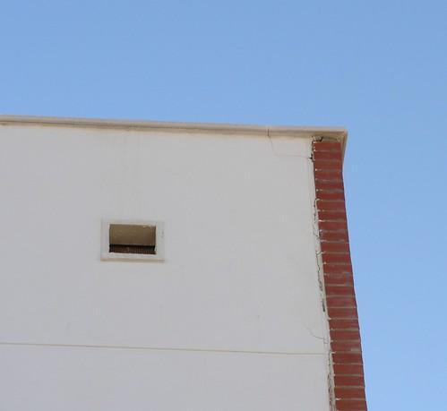 Rotura esquina vivienda