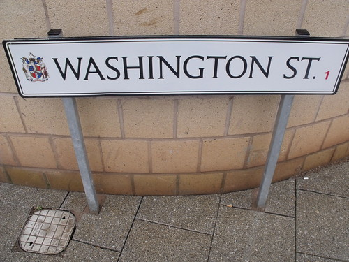 Washington Street - road sign