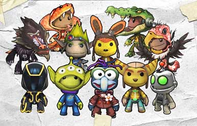 LittleBigPlanet 2 Collector's Edition DLC costumes