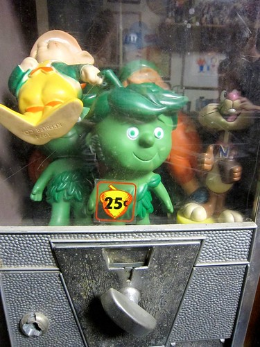 Little Green Spud in Gumball Machine