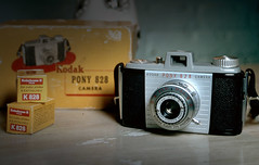 Kodak Pony 828 camera