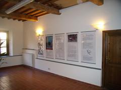 Cartelli illustrativi all'ingresso