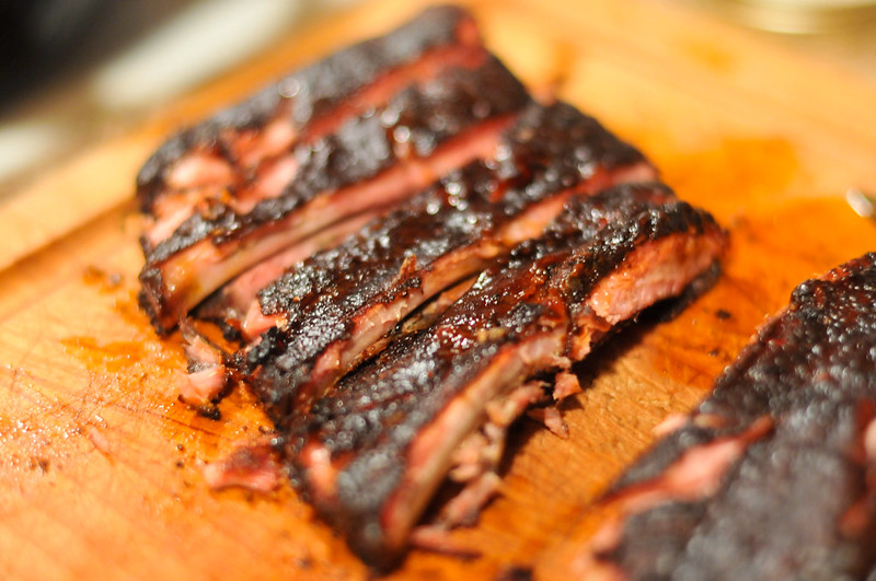 Coffee-rubbed Ribs