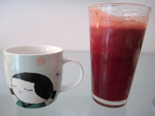 Veggie Juice and Tea