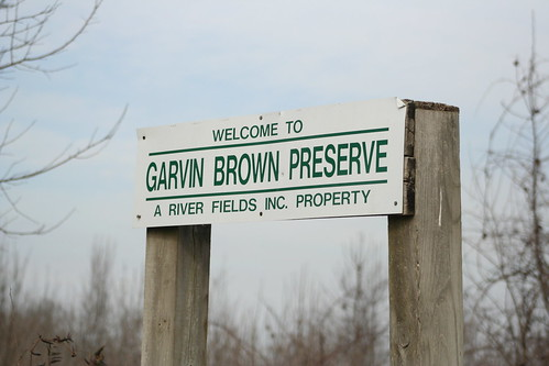 Garvin Brown Sign