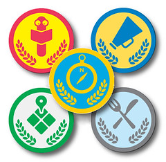 Foursquare's Collegiate Badges at Texas A&M University
