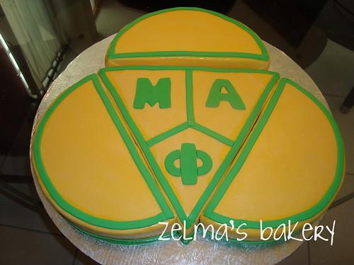 Mu Alpha Phi Sorority Cake
