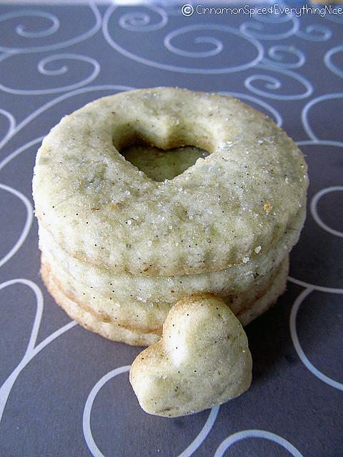 Lavender Vanilla Sugar Cookies