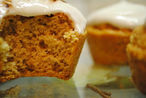 Cupcakes et leur glaçage au fromage blanc (PP / PL)