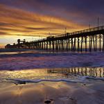 Oceanside Surf - Oceanside Pier, California