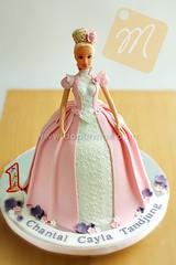 3D Barbie Cake - Anni