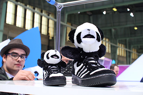 jeremy Scott Panda Sneakers by adidas Originals