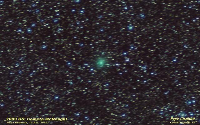 2009 K5 McNaught Comet