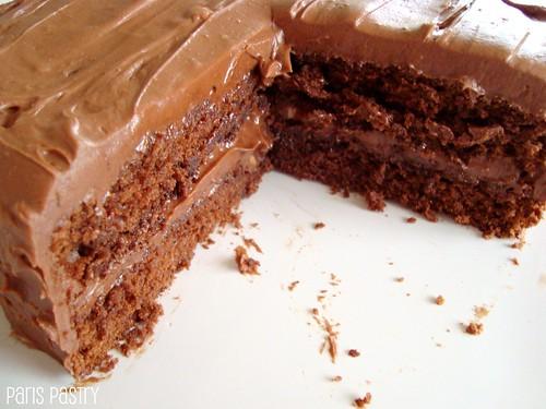 老式巧克力蛋糕