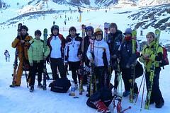 Lyžaři a snowboarďáci na gymnáziu