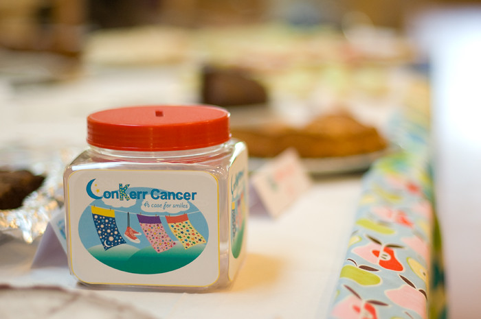Fundraising for conKerr cancer