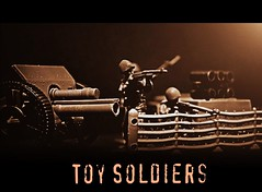 Toy Soldiers (tamahaji) Tags: old cinema toy soldier toys photo movies soldiers effect majority unthinking