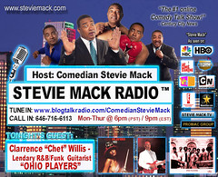 STEVIE MACK RADIO™ - Ohio Players - Clarence Chet Willis - 02-01-2011