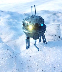 Imperial Probe Droid (chevy2who) Tags: star back probe v solo esb empire imperial wars strikes han droid