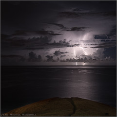 Sky's Wrath II (Jean-Michel Raggioli) Tags: martinique lightning storm thunderstorm caribbean seascape ourplanet