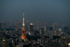 Tokyo Tower (asvensson) Tags: tokyo tokio tokyotower tvtower fernsehturm architecture architektur nacht night