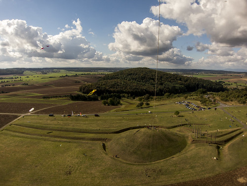 "KAP Shot of ""The World of the Celts at the Glauberg (Keltenwelt am Glauberg)"" Looking W"