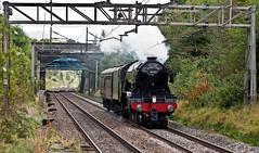 return of the scotsman (midcheshireman) Tags: steam train locomotive 60103 flyingscotsman cheshire