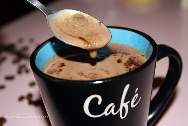 Italian-Style Hot Chocolate with Nutella