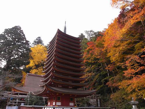 談山神社(紅葉)@桜井市-12