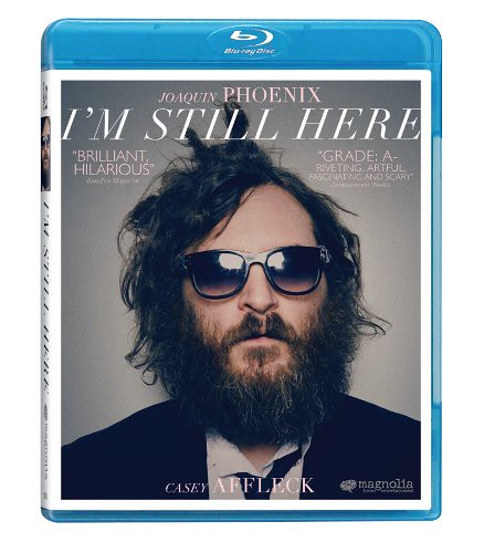 I'm Still Here DVD for the UK