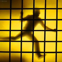 Escape the Madness (Ben Heine) Tags: door light shadow wild wallpaper blur color art monochrome silhouette sport yellow loft speed jaune square photography fly jump energy colorful break escape geometry getaway lumire profile shapes run move line business busy madness figure passion expressive series mathematics porte hurry diffusion transparent outline conceptual frantic departure cosmic transmission pigment enthusiastic rhythm flou loose forme ether carr vibration vitesse sauvage folie fuite envol frenetic rythme courir stimulation theartistery apesanteur hyperkinetic benheine flickrunited samsungimaging nx10 appartgallery