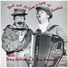 Stylish Singing Underway, Toots (epiclectic) Tags: bw music art vintage comedy album vinyl accordion retro collection gloves cover lp record parody ethnic sleeve anagram 1960 stanboreson epiclectic titlebywordsmithorg dougsetterberg twoguysinfunnyhats