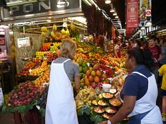 Mercat de la Boqueria - Market - Las Ramblas - Barcelona - Spain (smiellet) Tags: barcelona las de la spain market boqueria ramblas mercat