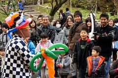 Balloon Moto (turntable00000) Tags: park street japan photography tokyo heaven artist balloon turntable moto 365 perform  takashi inokashira     kitajima    turntable00000 20101204